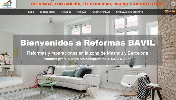 Diseño de Reformas BaVil Masnou por SIAICA Soluciones Informáticas de Carlos Ruiz Zaragoza