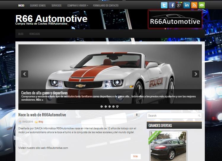 Diseño de r66automotive