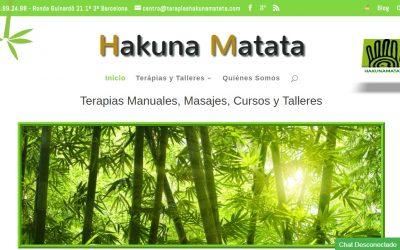 Diseño de Centro de Terapias Naturales Hakuna-Matata
