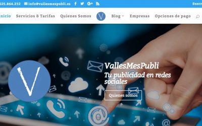 Construcción y diseño de VallesMesPubli.es