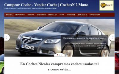 Diseño de CochesN – Compra Venta de Coches Usados