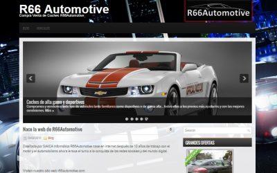 Diseño R66Automotive – Compra venta de coches