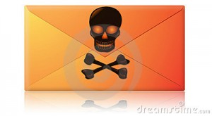 spam phishing - virus sobre del email de phishing