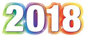 2018 con colores