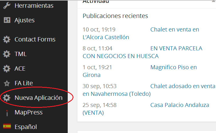 Crear un plugin de wordpress