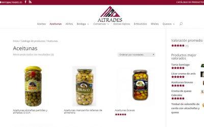 Construcción y diseño de Altrades.es