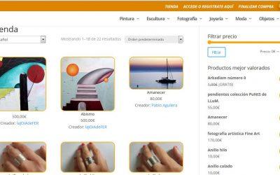 Diseño de la web Nous Creadors