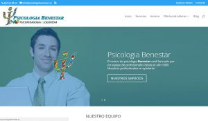 Diseño de psicologiabenestar.es