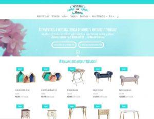 Nuevo diseño de la tienda de muebles La Maison Vintage