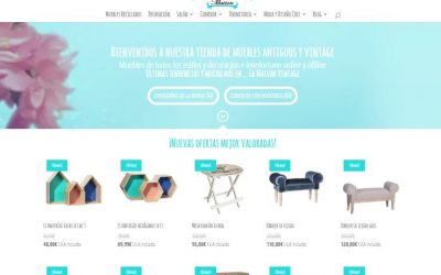 Nou disseny de la botiga de mobles La Maison Vintage