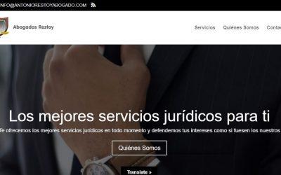 Disseny web del Bufet Advocats Restoy