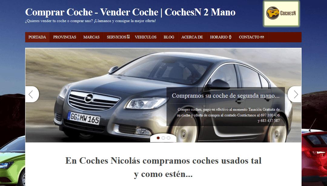 Disseny de CotxesN – Compra Venda de Cotxes Usats