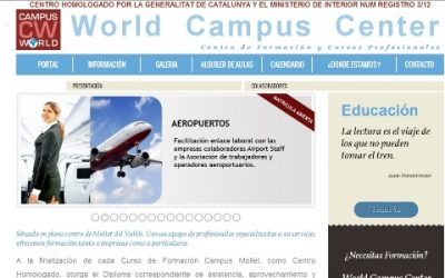 Disseny i SEO del Projecte WorldCampus.Center