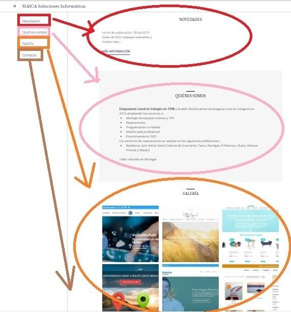 Construcción de sitios web en 5 minutos y luego SEM de pago