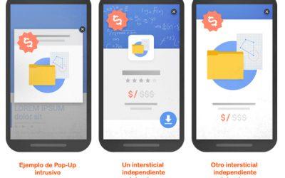 ¿Por als pop-up per la penalització de Google?