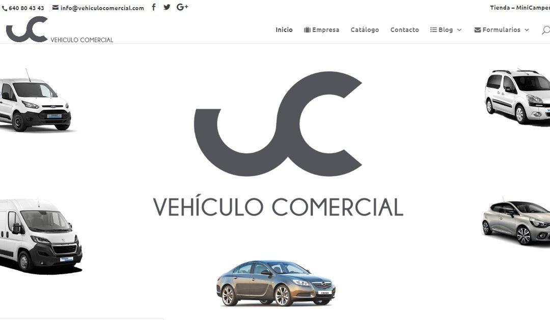 Construcció i disseny de vehiculocomercial.com